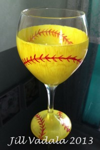 Softball glass